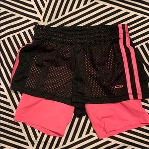 Champion size 6-6x shorts in girls